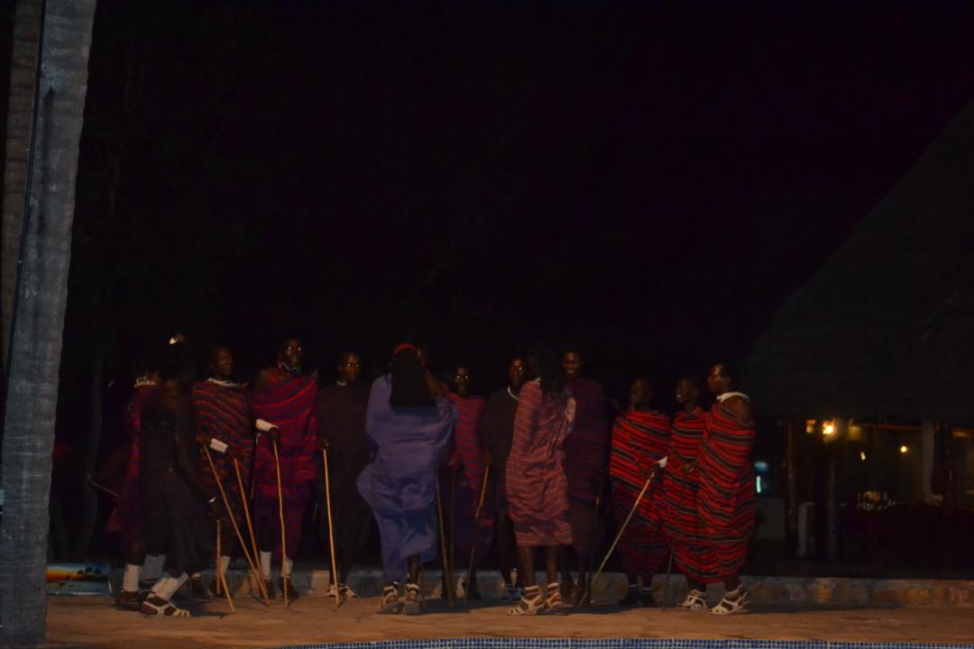 Zanzibar Resort- Massai performance