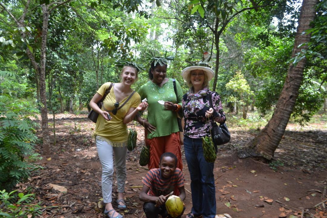 Zanzibar spice village tour