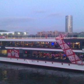 Cruise the Rhein from city to city.