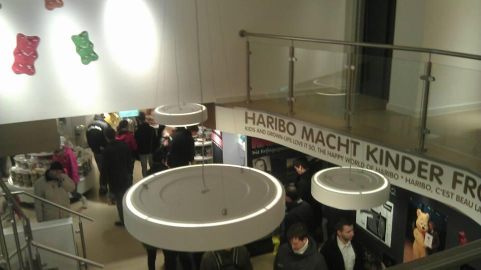 Bonn, Germany. Home of the Haribo gummy bear!
