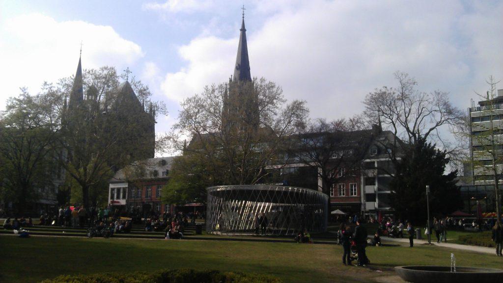 The beautiful Aachen, Germany.