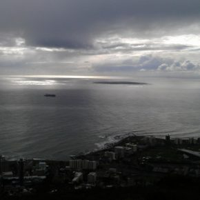 You can spot Robben Island!
