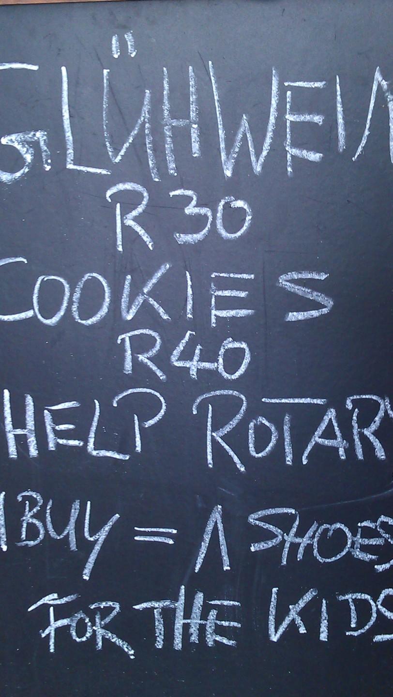 Gluhwein in Cape Town, love it!