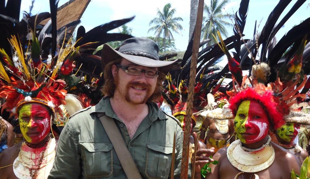 Graham in Papua New Guinea.