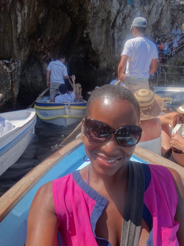 Tryphena in Capri, Italy.