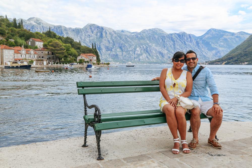 Brock and Tanj in Montenegro.