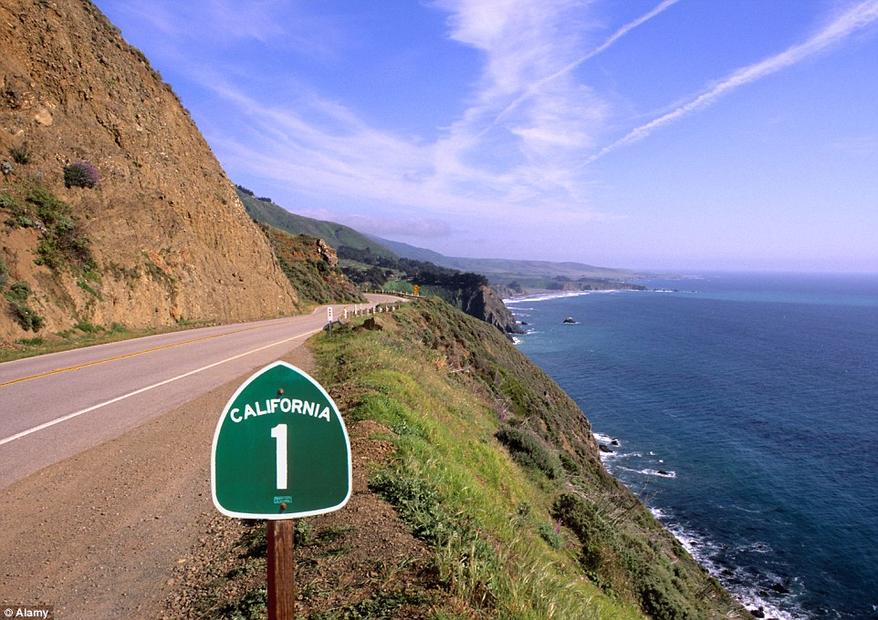 california 1 road