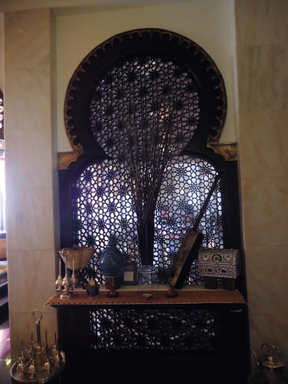 Foyer of the restaurant.