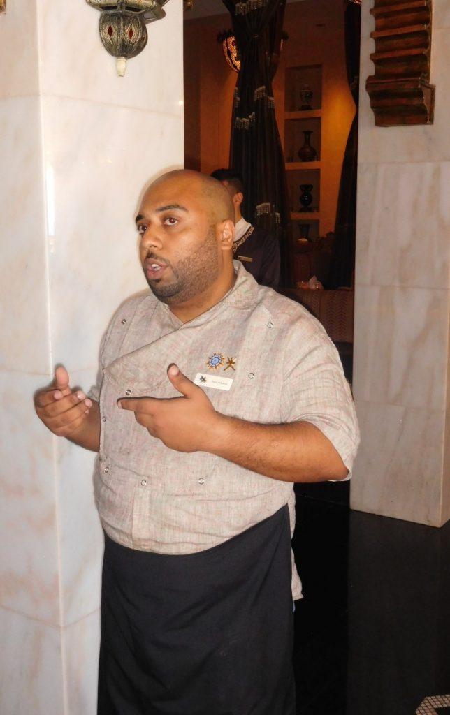 The man, Chef Salim!