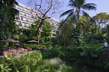 The Swissotel Nai Lert Park Bangkok.
