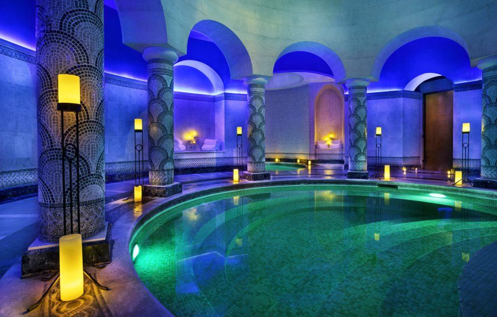 Hamman at the Ritz Carlton Bahrain spa.