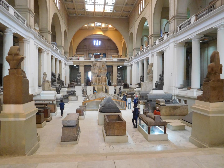 Egyptian Museum, Cairo Egypt Photo-Journey