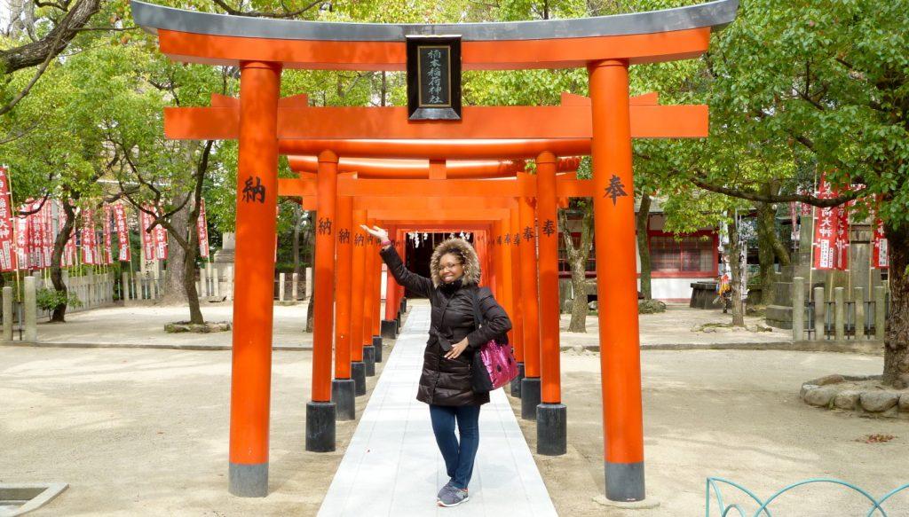 Rachel in Kobe, Japan