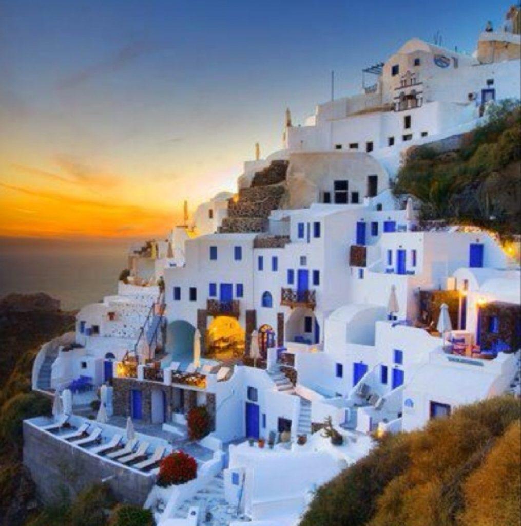 Gorgeous Santorini.