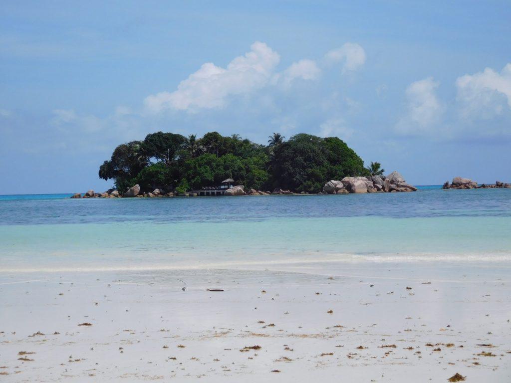 Pristine Praslin islands.