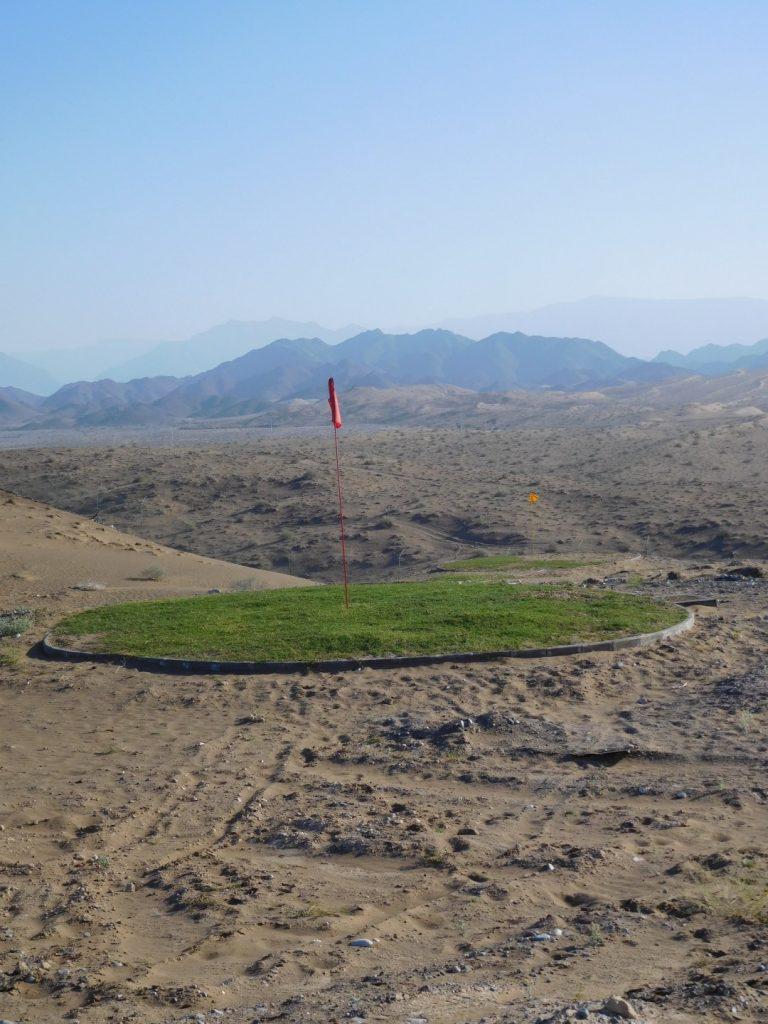 Go sand golfing!