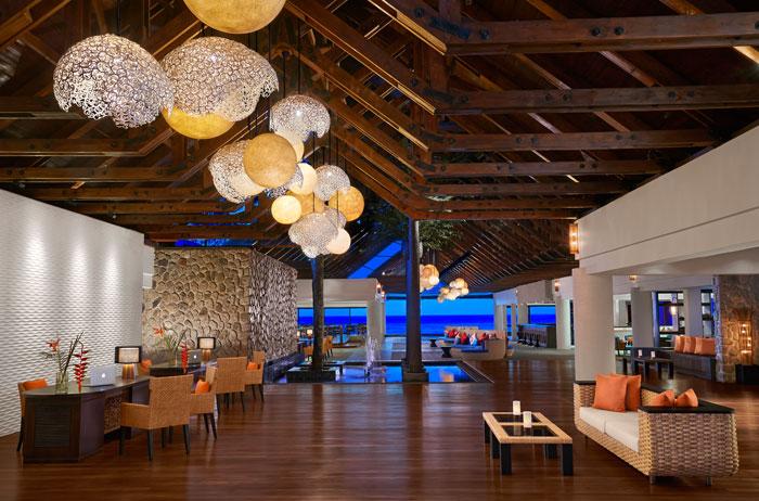 Lobby of Avani Seychelles