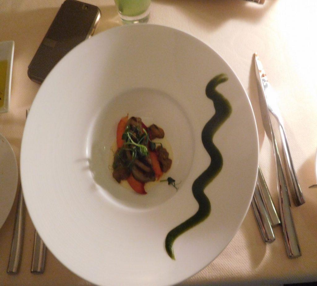 Delicious Foie gras.