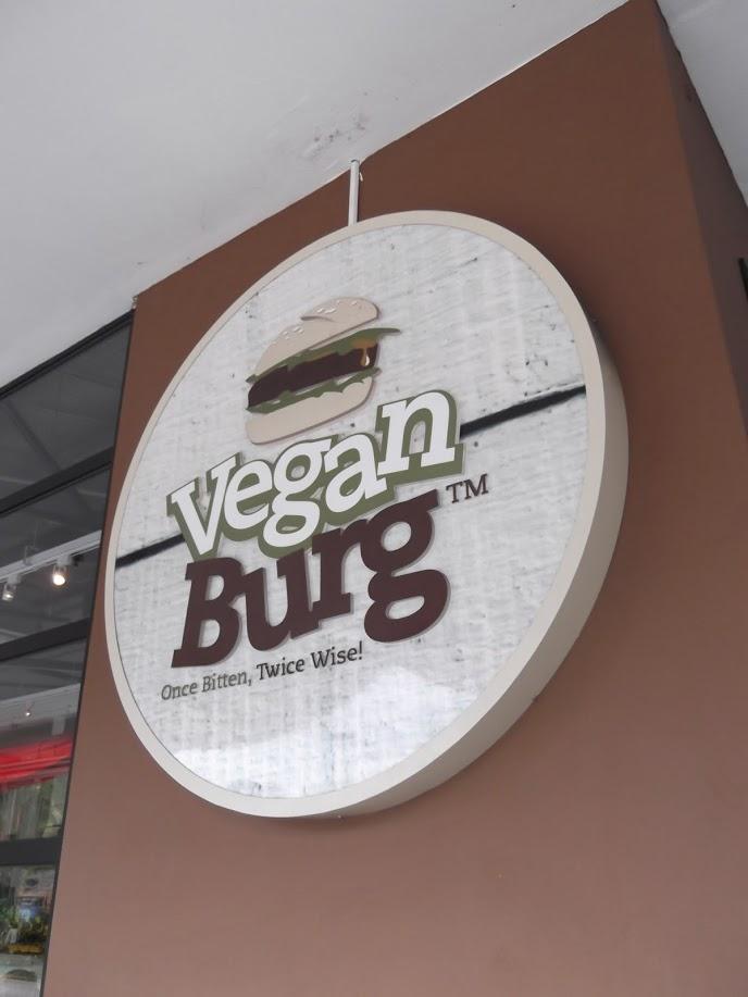VeganBurg Restaurant Review in Singapore