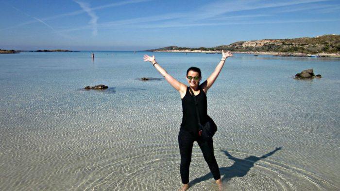 Sofie in Kreta