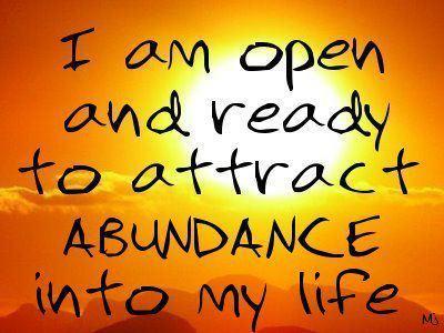 abundance-saying
