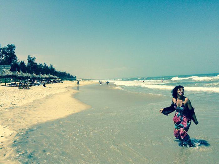 Life's a beach in Vietnam.