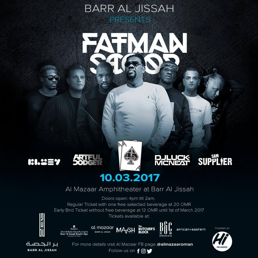 Al Mazaar Presents Fatman Scoop, Bluey and more in Oman