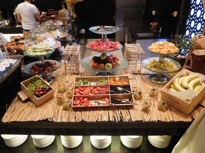 Al Wadi offered an excellent breakfast buffet option.