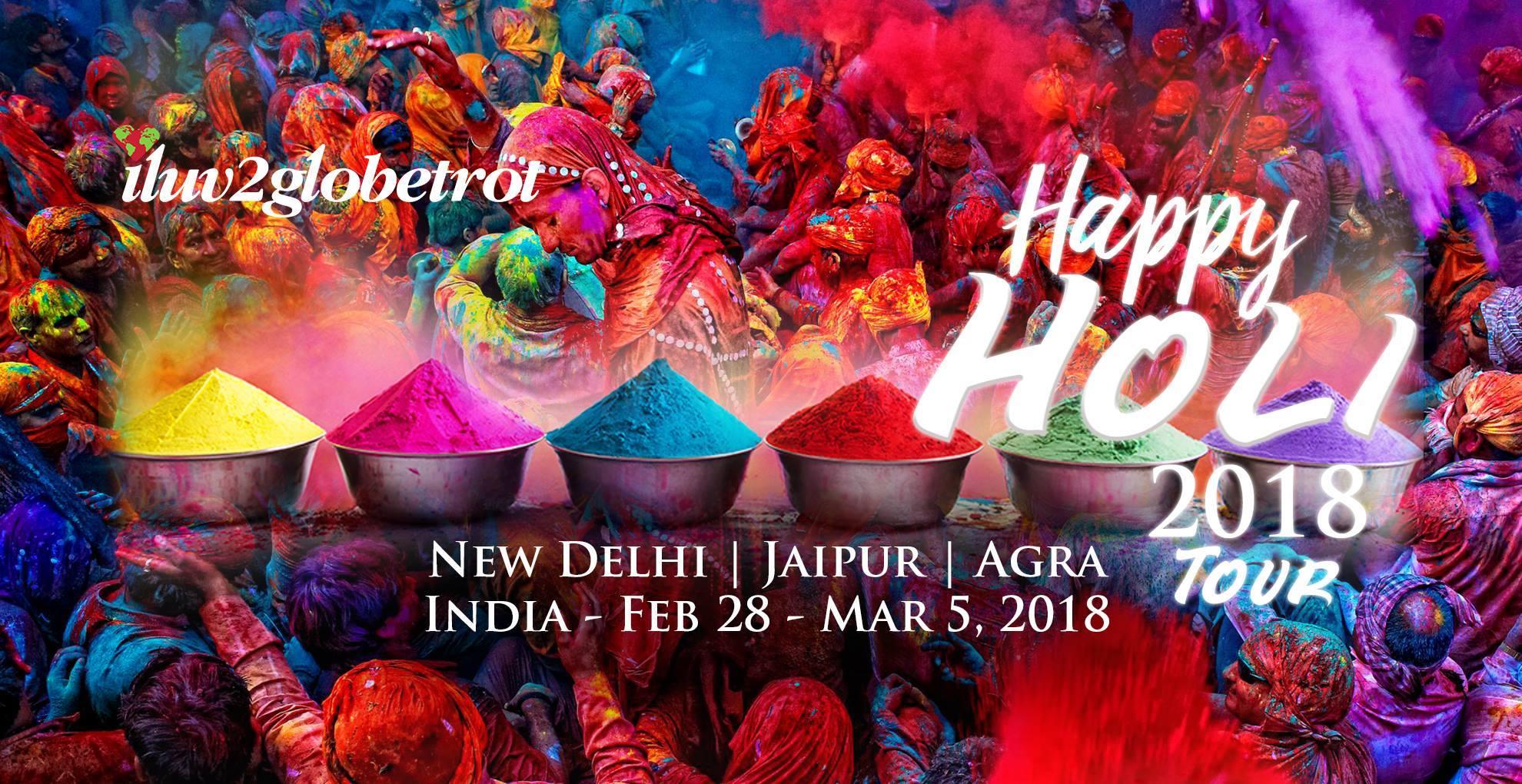 The Holi Festival Tour 2018